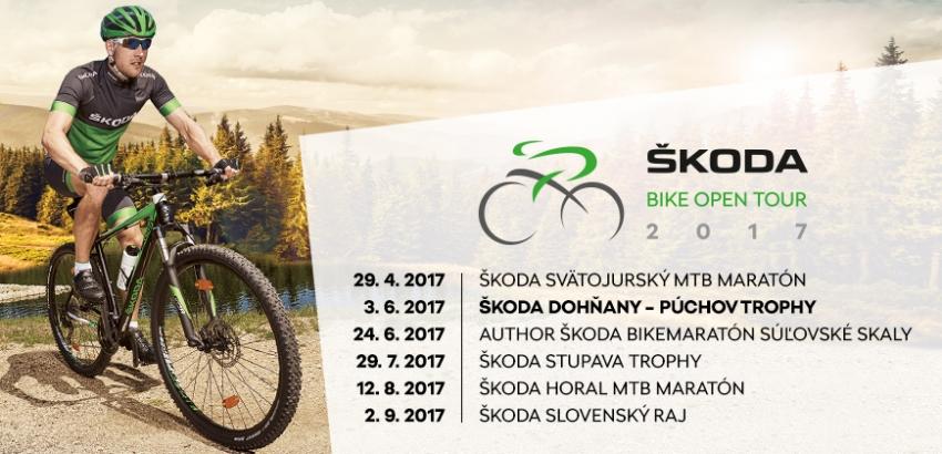 Sme členmi prestížneho slovenského seriálu ŠKODA BIKE OPEN TOUR 2017