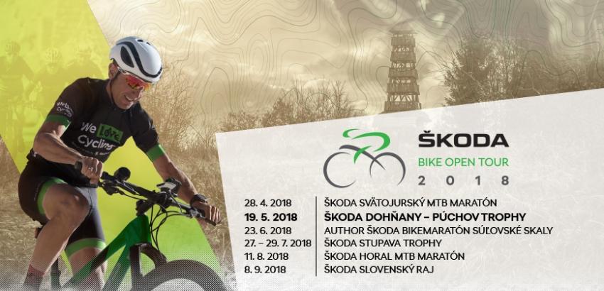Sme členmi prestížneho slovenského seriálu ŠKODA BIKE OPEN TOUR 2018