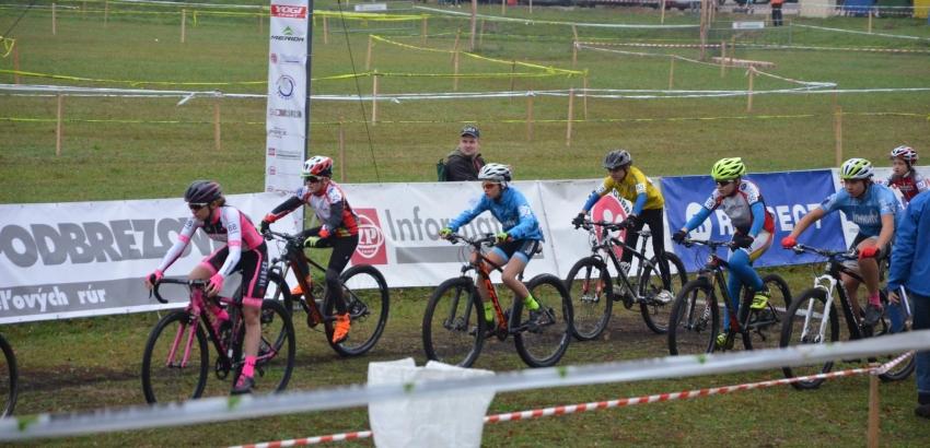4. kolo Slovenského pohára v cyklokrose, Podbrezová, 21.10.2017