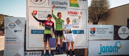 GRAND PRIX Dohňany UCI C2 a 1. kolo Slovenského pohára v cyklokrose 2021