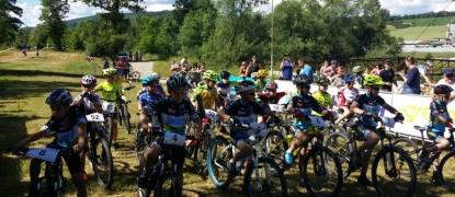 Detská považská cykloliga 3.6.2017 a Slovenský pohár v MTB XCO 4.6.2017