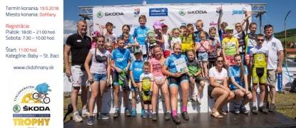 ŠKODA Detský cyklomaratónik a 2. kolo Detskej považskej cykloligy, 19.5.2018