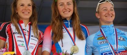 Na Majstrovstvách SR zlatá medaila Kadlecovej